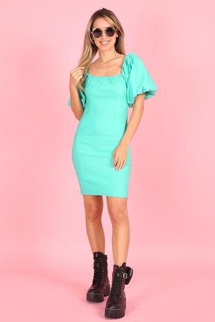 Dress SPN Green