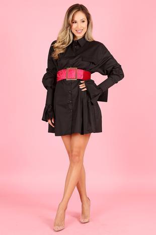 DRESS 1688 BLAC