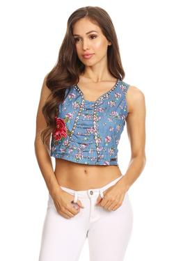 Crop-Top Flower
