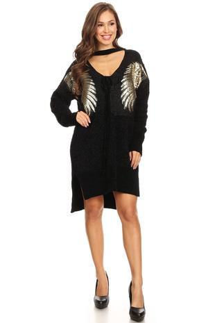 Wings BLK Dress
