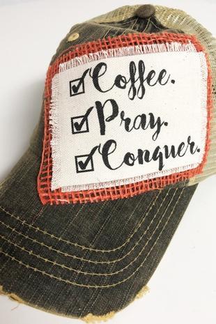 CoffeePrayHat
