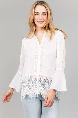 T2344 Lace Top