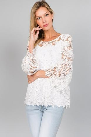 T2365 Lace Top