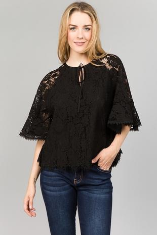 T2430 Lace Top