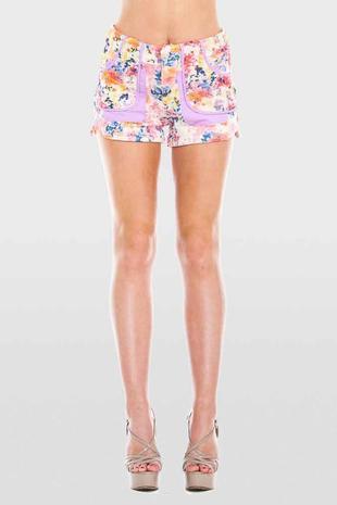 VO961-embellished shorts