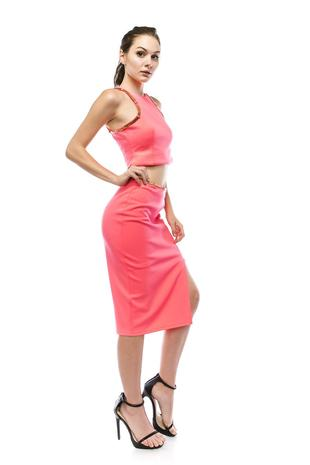 VOKS1586-pencil skirt
