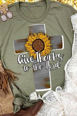 Give Thanks t-X